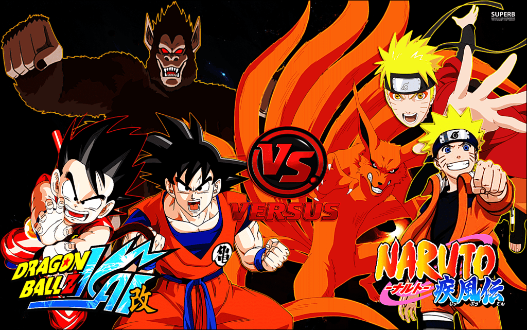Goku and naruto wallpapers wallpaper cave - Naruto and dragonball z ...