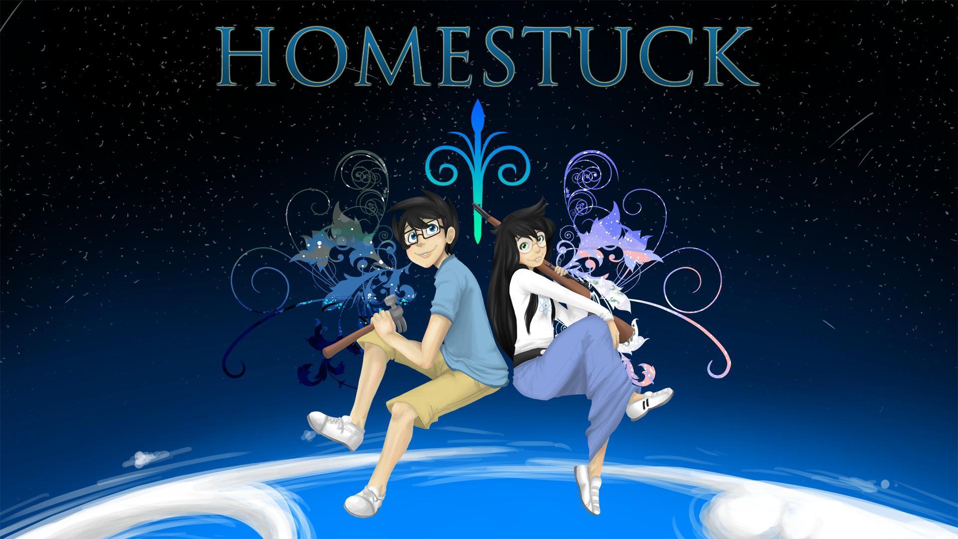 Homestuck Desktop Back...