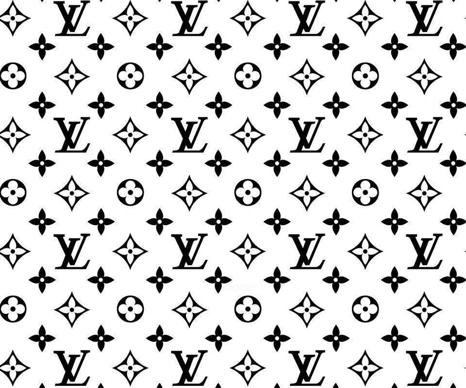 Louis Vuitton logos wallpaper for mobile download free