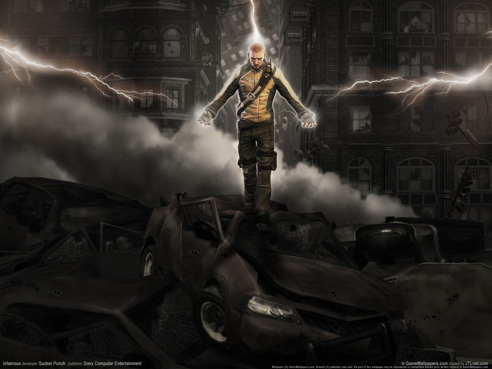 InFAMOUS Wallpapers Cool 14814 HD Pictures