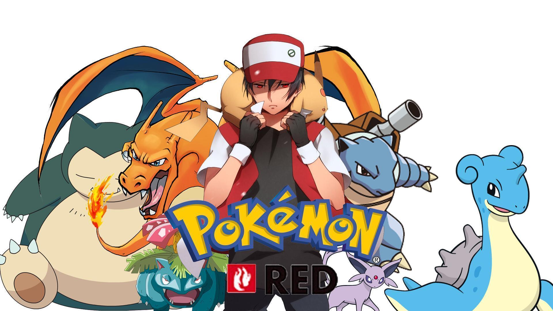 Pokemon Red Wallpapers by Roxxas21
