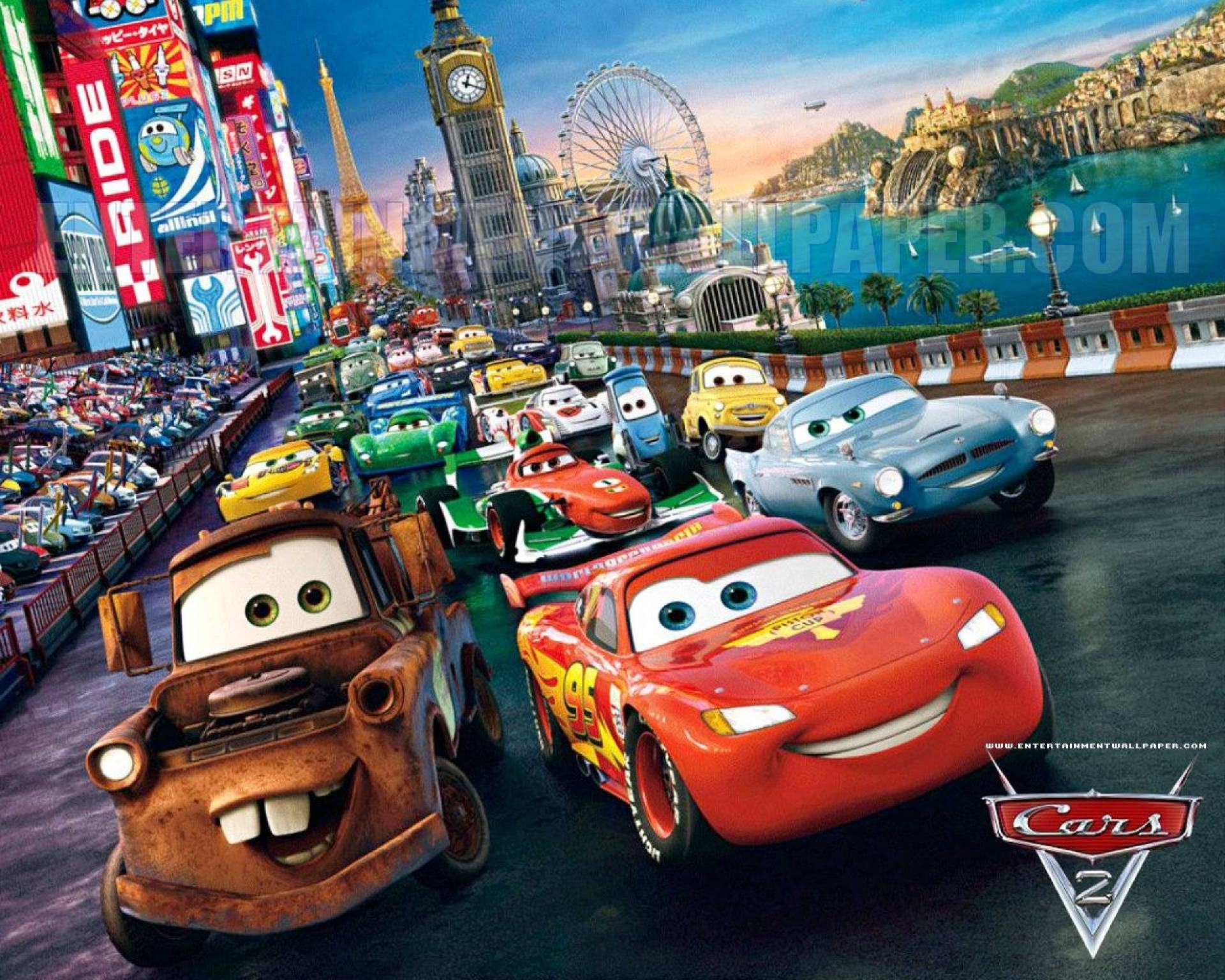 Wallpapers Cars Cartoon  Wallpaper Cave