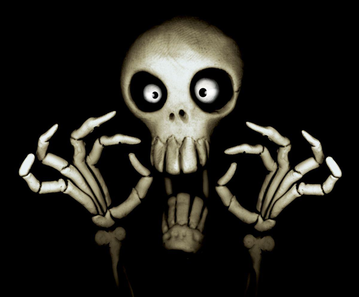 Scary skull wallpapers wallpaper cave - Scary skull backgrounds ...