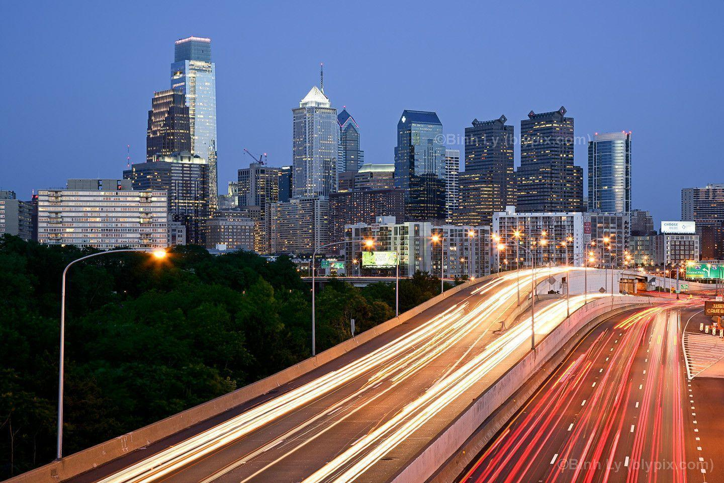 philadelphia skyline wallpaper - photo #5