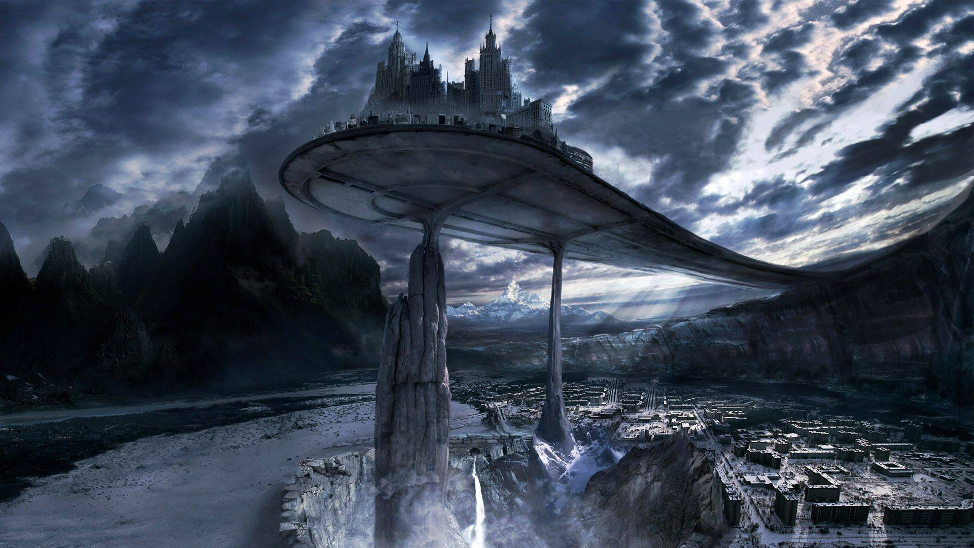 Dark fantasy landscape wallpapers