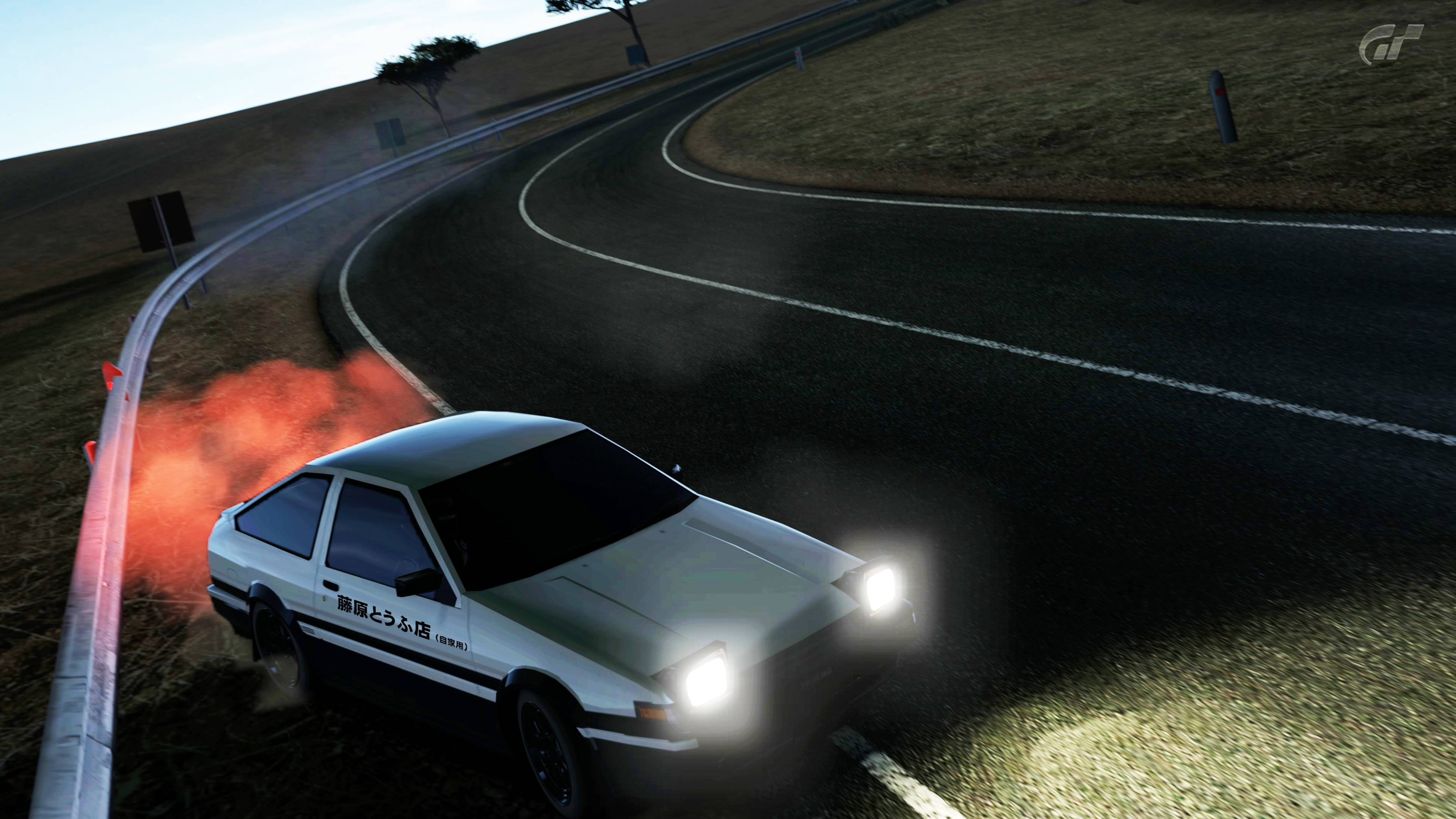 Initial d wallpapers wallpaper cave - Ae86 initial d wallpaper ...