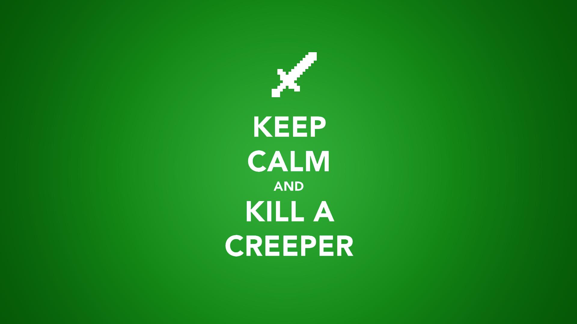 Minecraft Quote Wallpaper Creeper #724   Hdwidescreens.