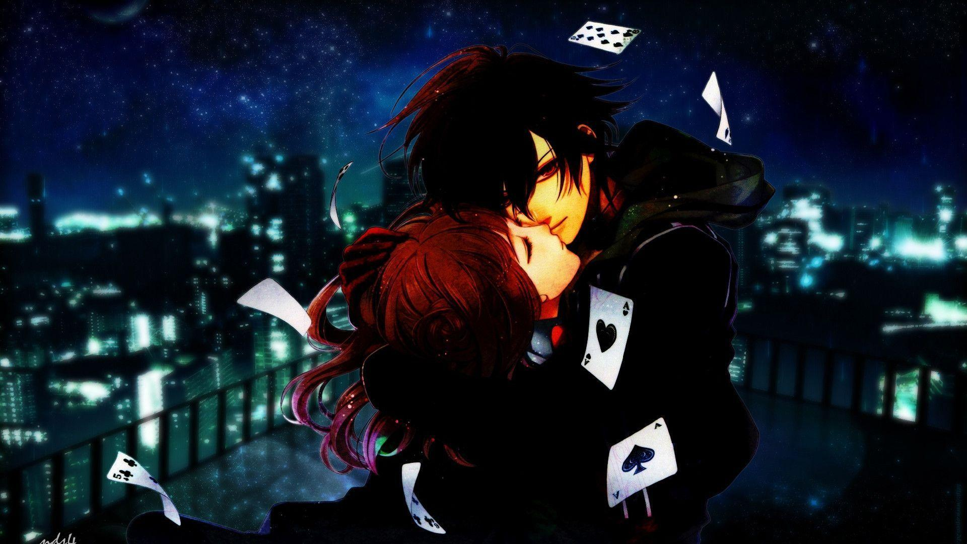 Animated Love couple Hd Wallpaper : Anime Love Wallpapers - Wallpaper cave