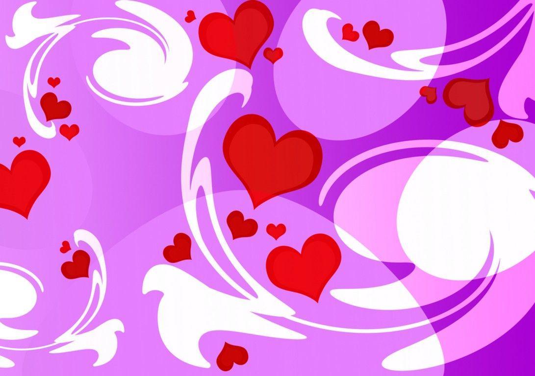 cute heart backgrounds wallpaper cave