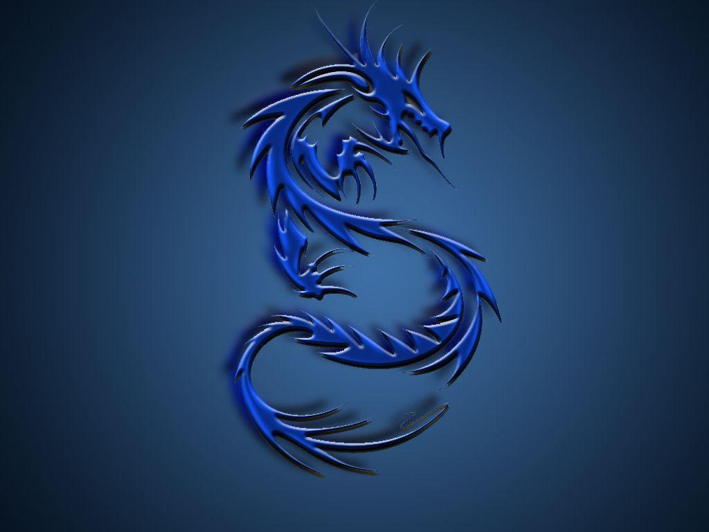 cool blue dragon wallpaper - photo #11