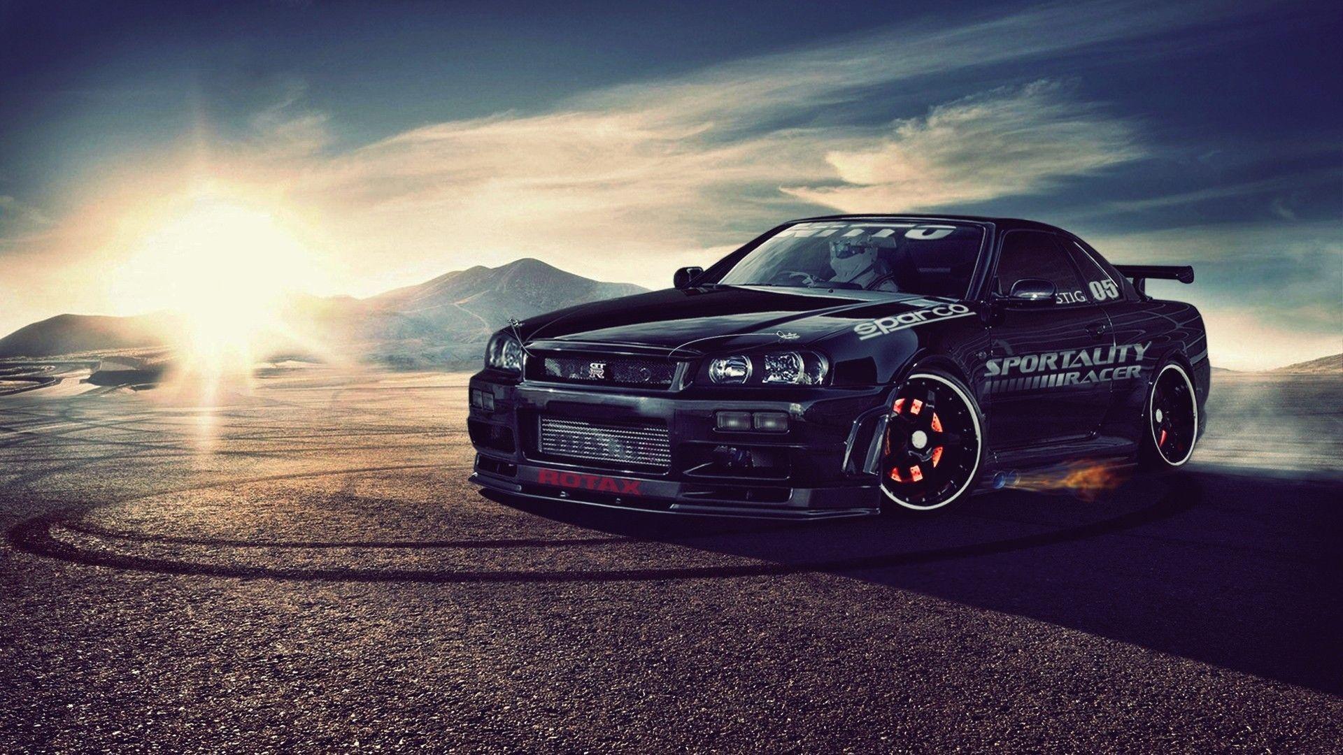 cars Drift Nissan Nissan Skyline GTR R34 / 3888x2592 ... |Nissan Skyline Drift Wallpaper