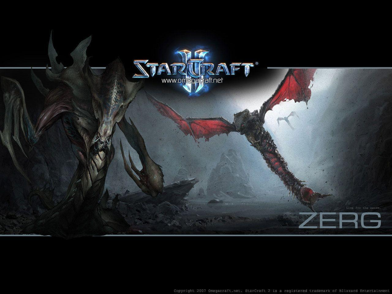 Starcraft 2 Zerg Wallpapers by maul