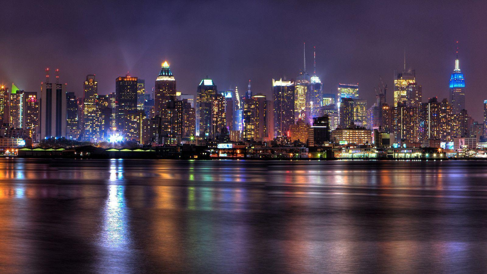 City skyline wallpapers wallpaper cave - New york skyline computer wallpaper ...