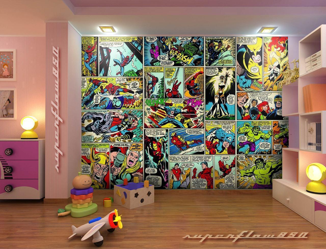 Marvel Wallpaper For Bedroom Marvel Bedroom Marvel Avengers Hulk Fist Led Wall Light Lamp New