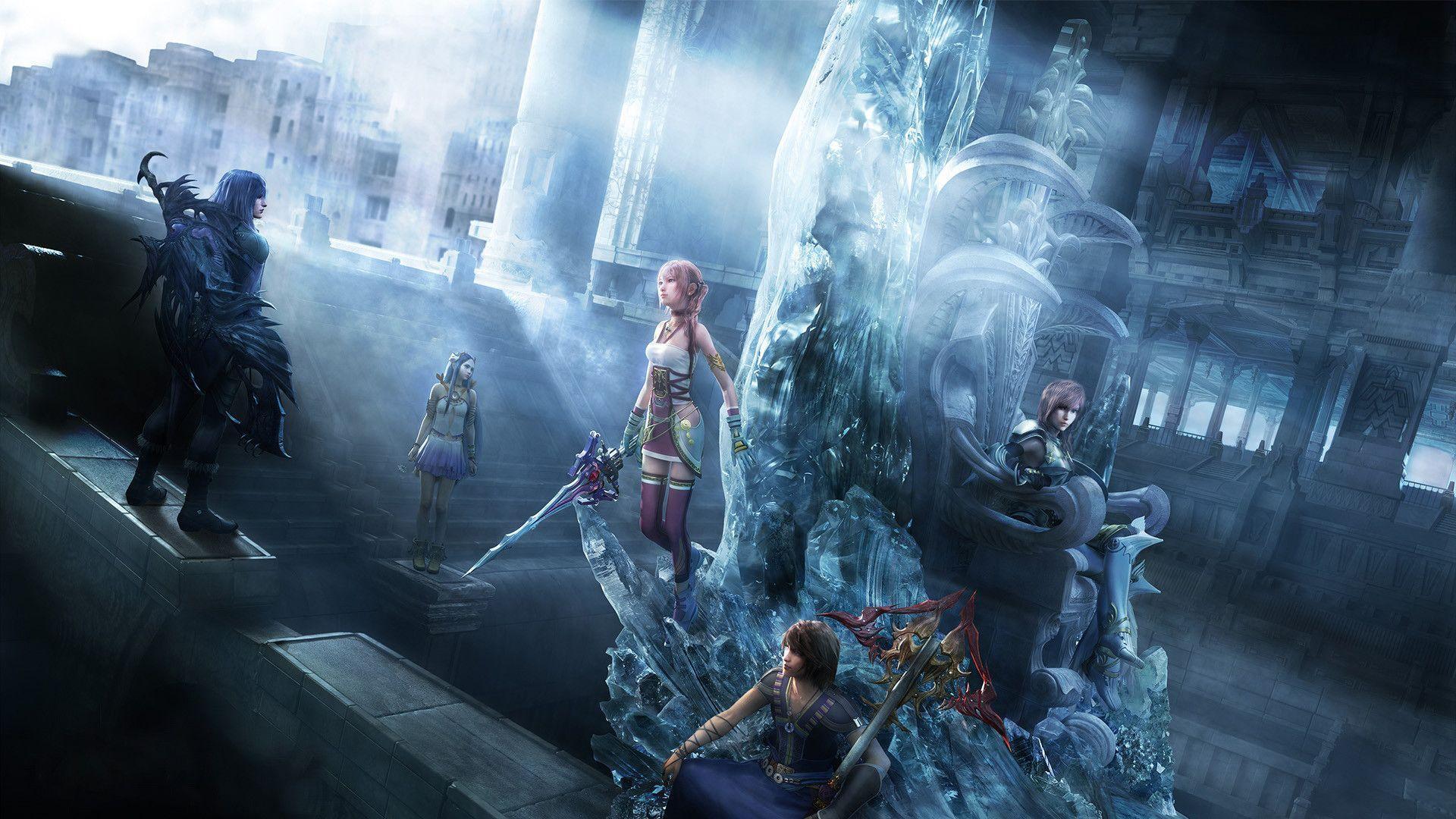 Final Fantasy 13 2 Wallpapers Wallpaper Cave
