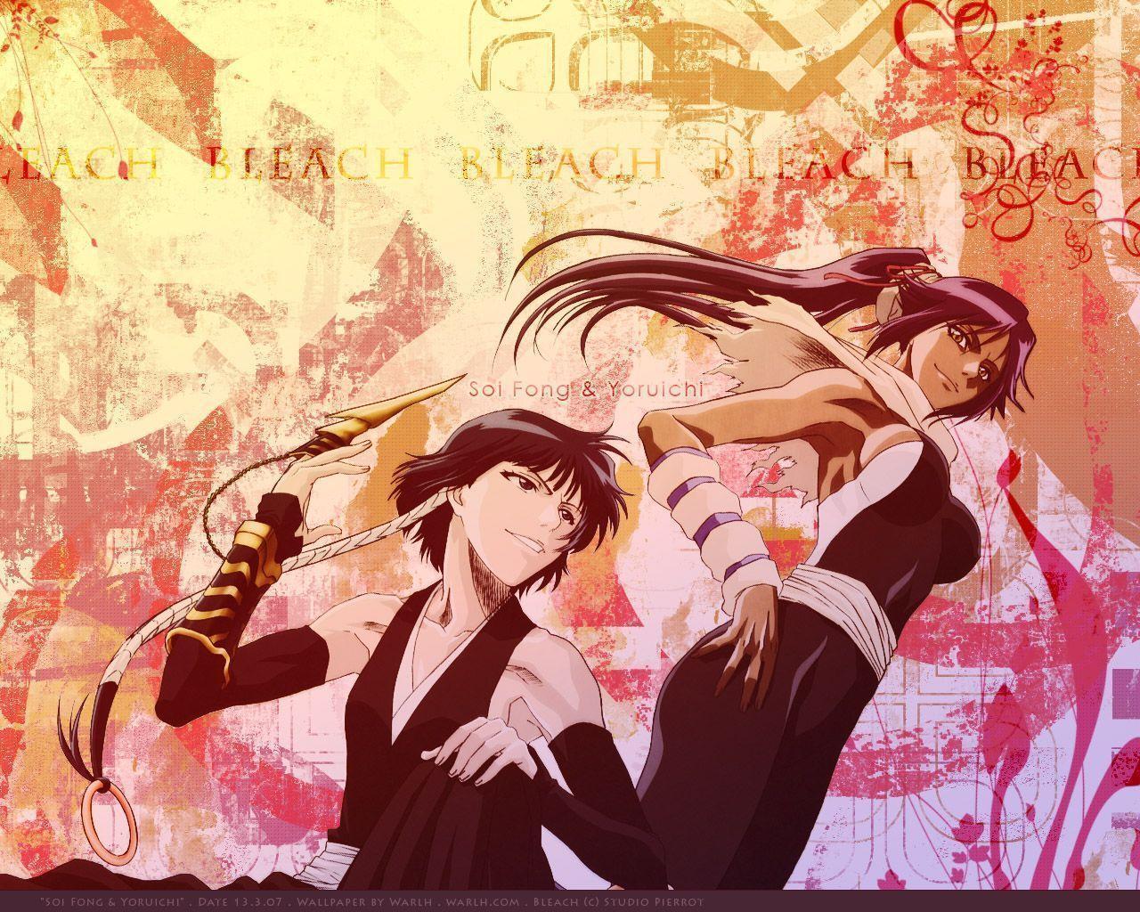 Bleach Yoruichi Wallpapers Wallpaper Cave