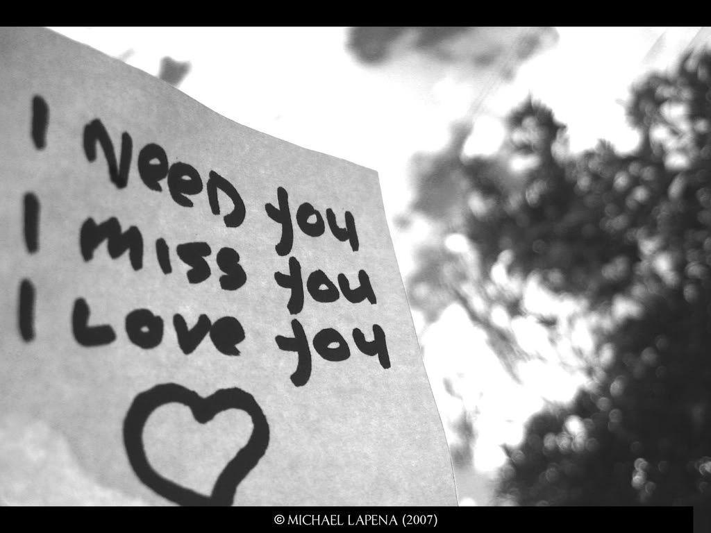 Wallpaper download i miss you - Wallpapers For Download Miss You Wallpapers
