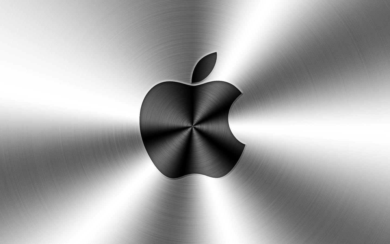 metal apple wallpapers - wallpaper cave