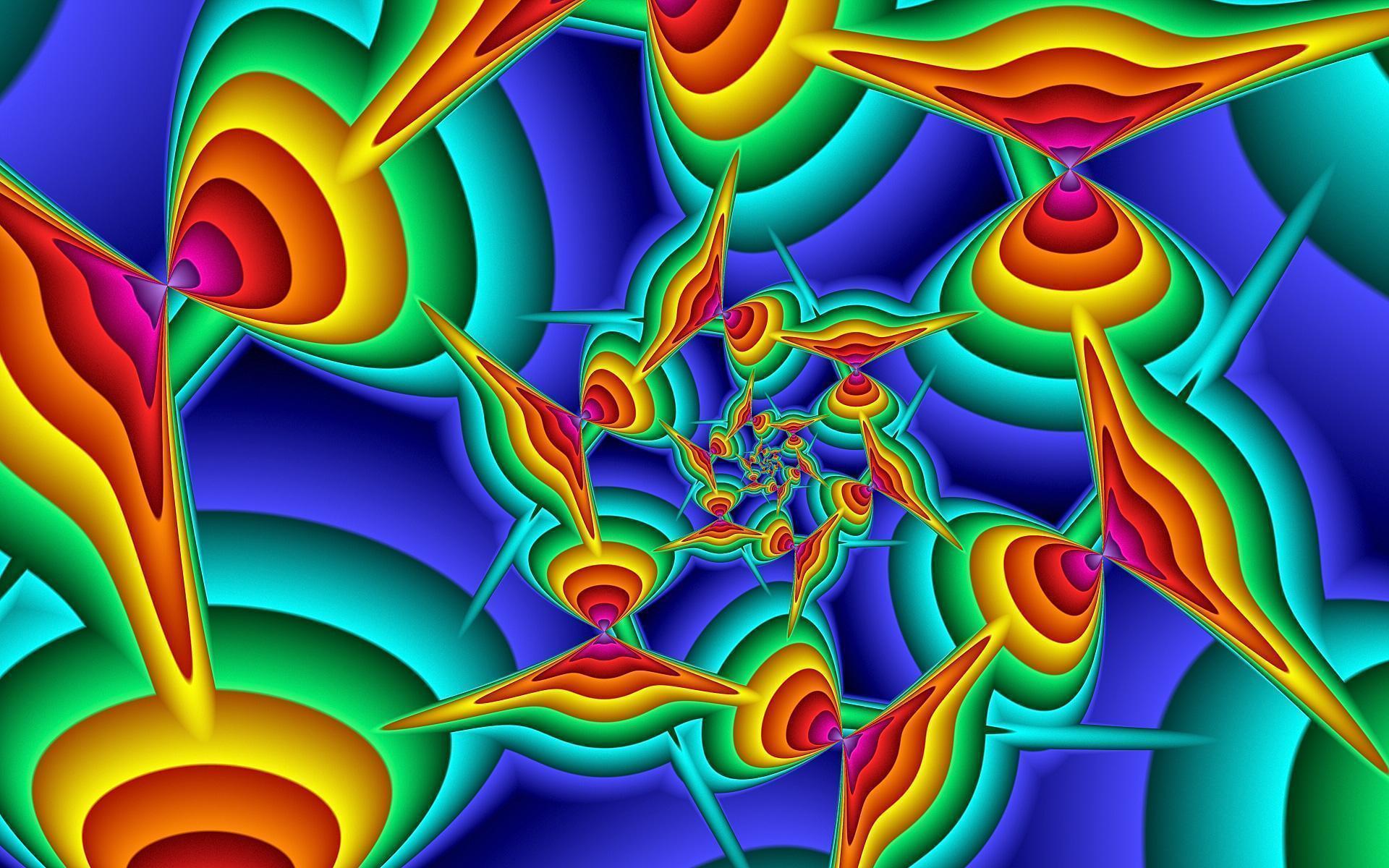 rainbow fractal wallpaper - photo #18