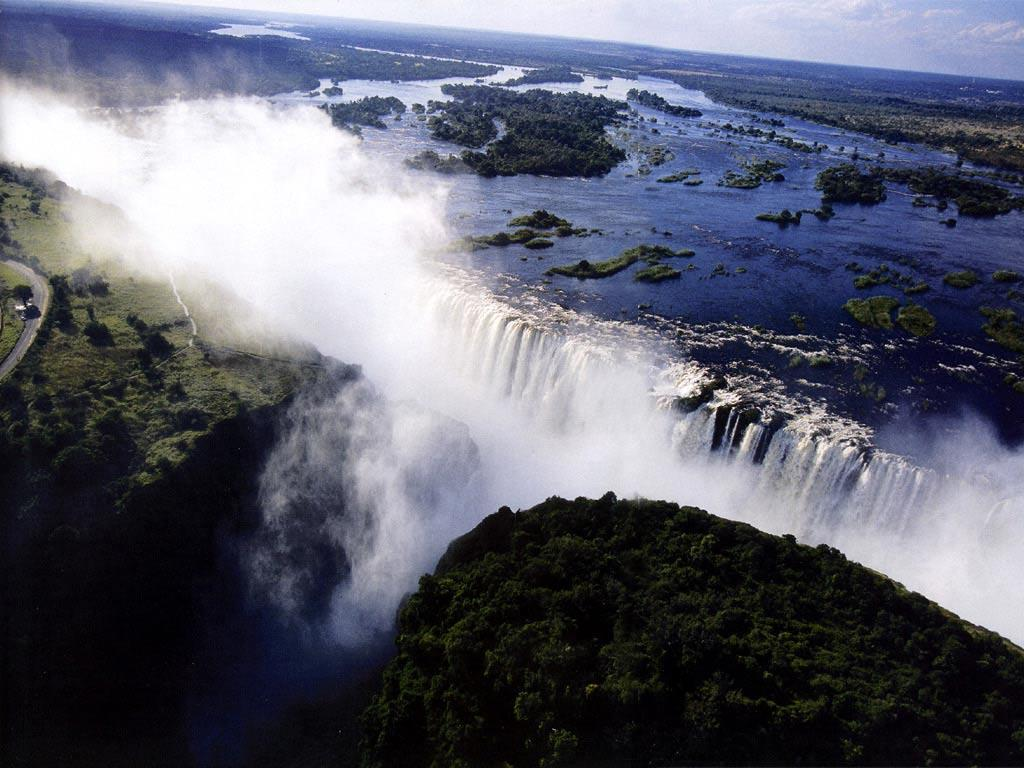 Desktop Wallpapers · Gallery · Nature · Victoria Falls