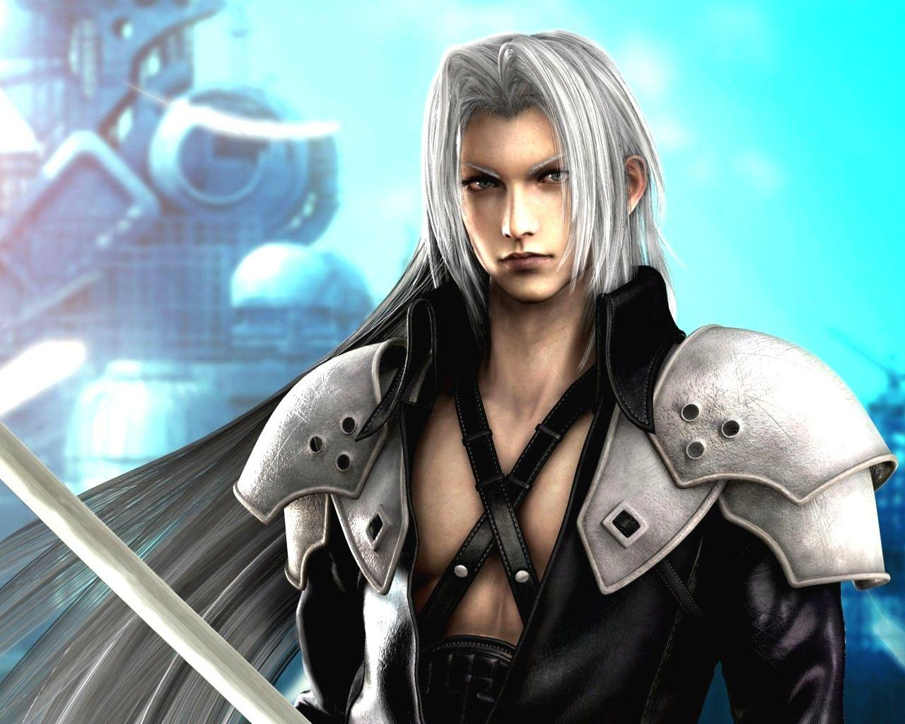 Final Fantasy 7 Sephiroth Wallpapers Wallpaper Cave