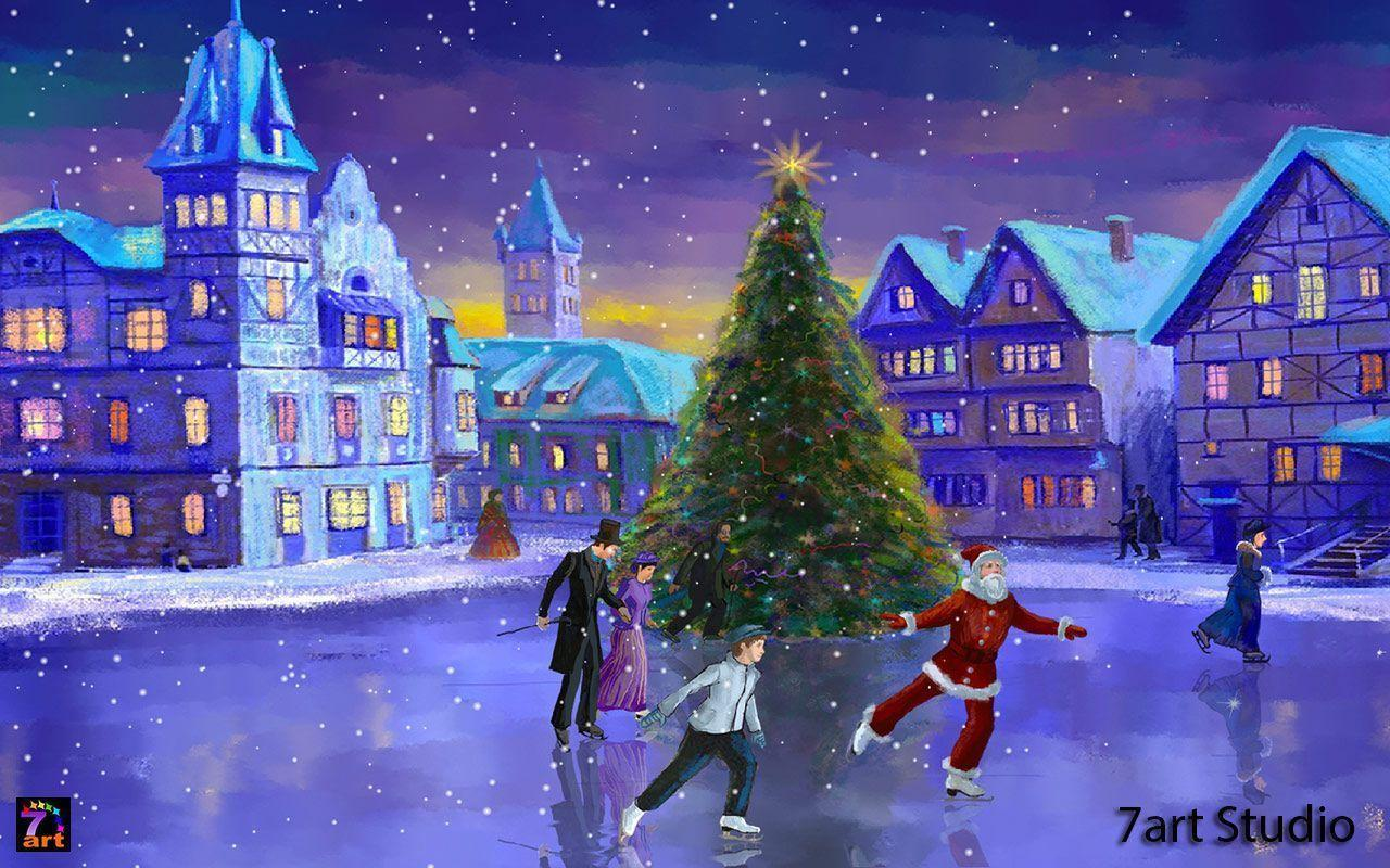 9 Best Christmas Live Wallpapers And Screensavers For Pc: Free Holiday Screensavers And Wallpapers