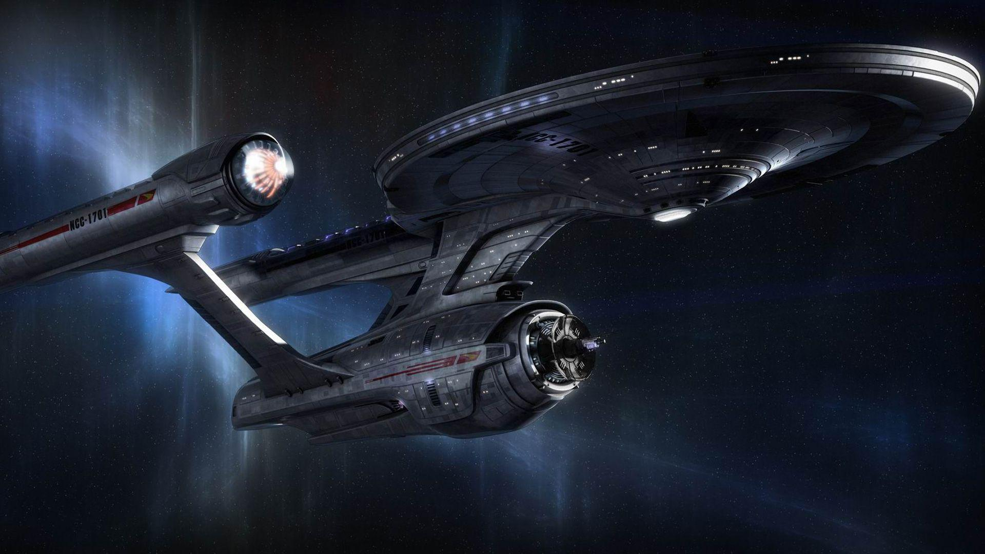 Download Star Trek Classic Space Ship HD Wallpapers