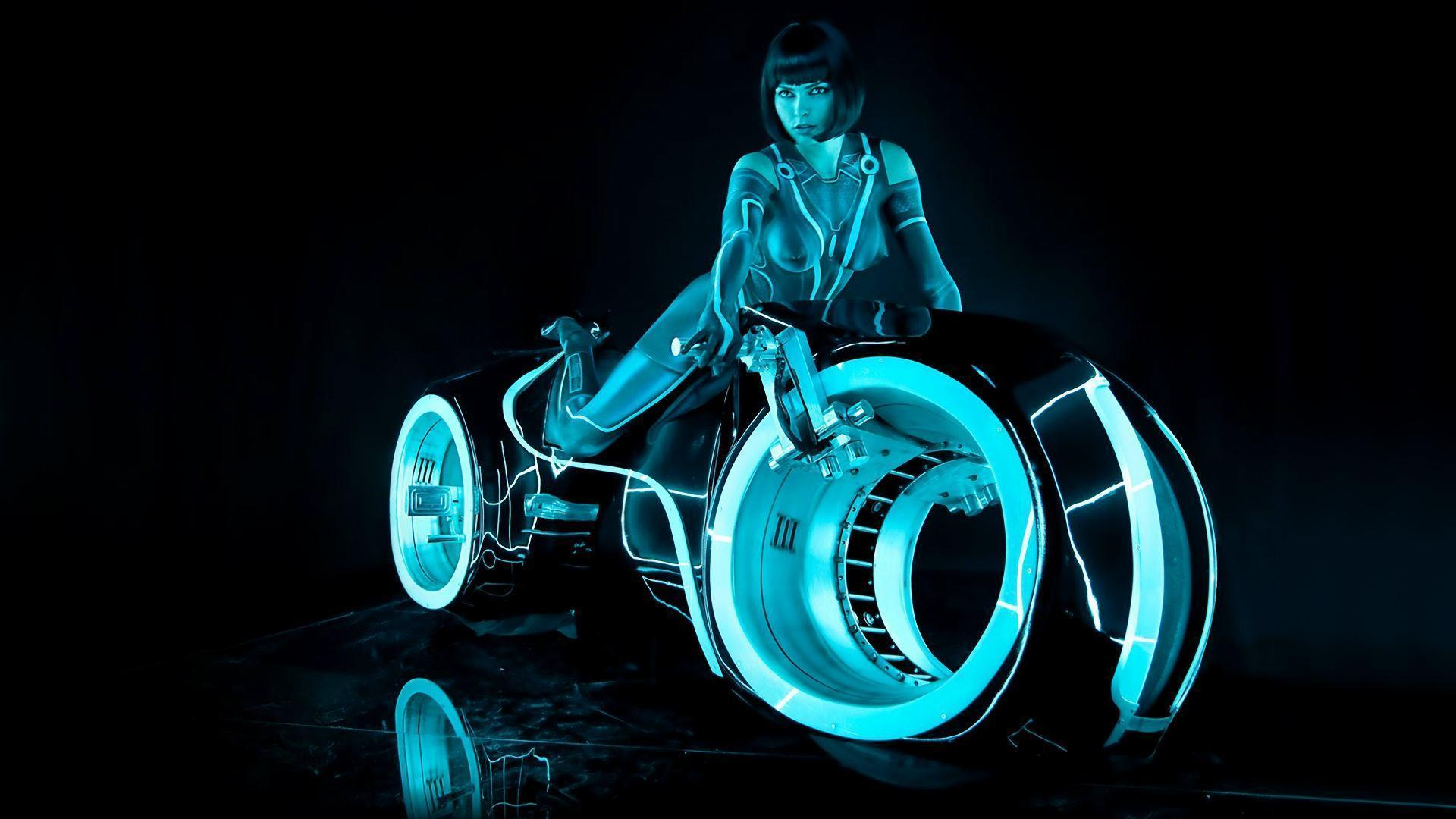 Wallpaper 3d Bike Tron Legacy Download: Tron Wallpapers