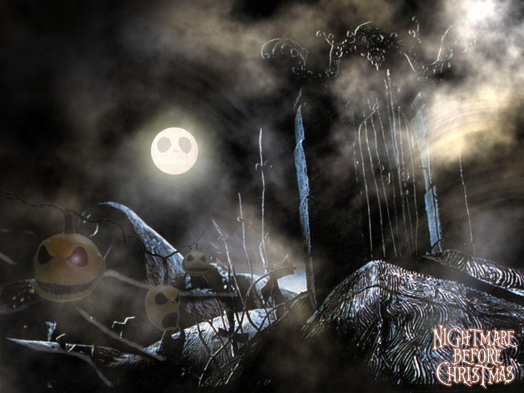 Xmas Stuff For > Nightmare Before Christmas Graveyard Backgrounds