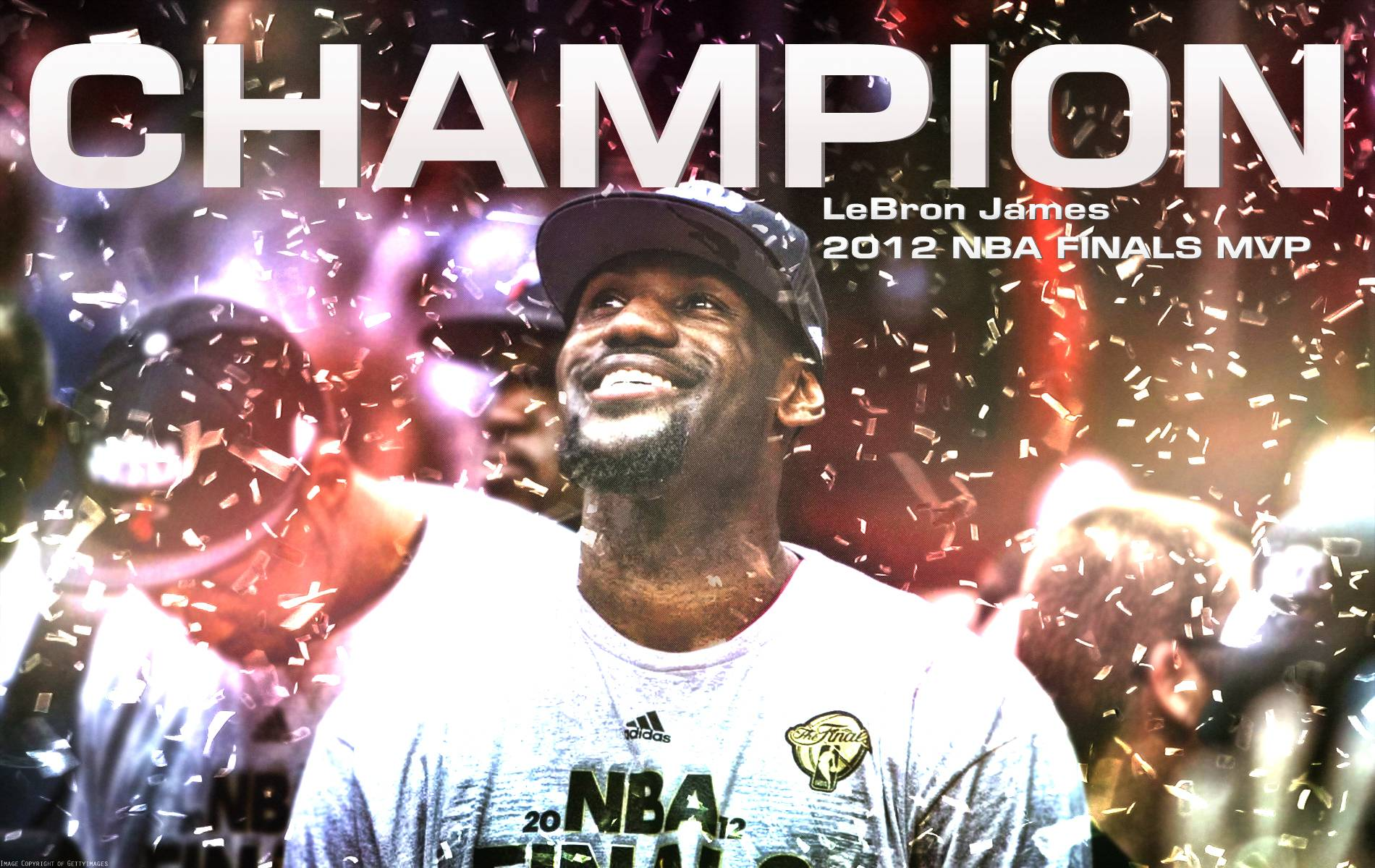 LeBron James NBA Champion Wallpaper by IshaanMishra on DeviantArt