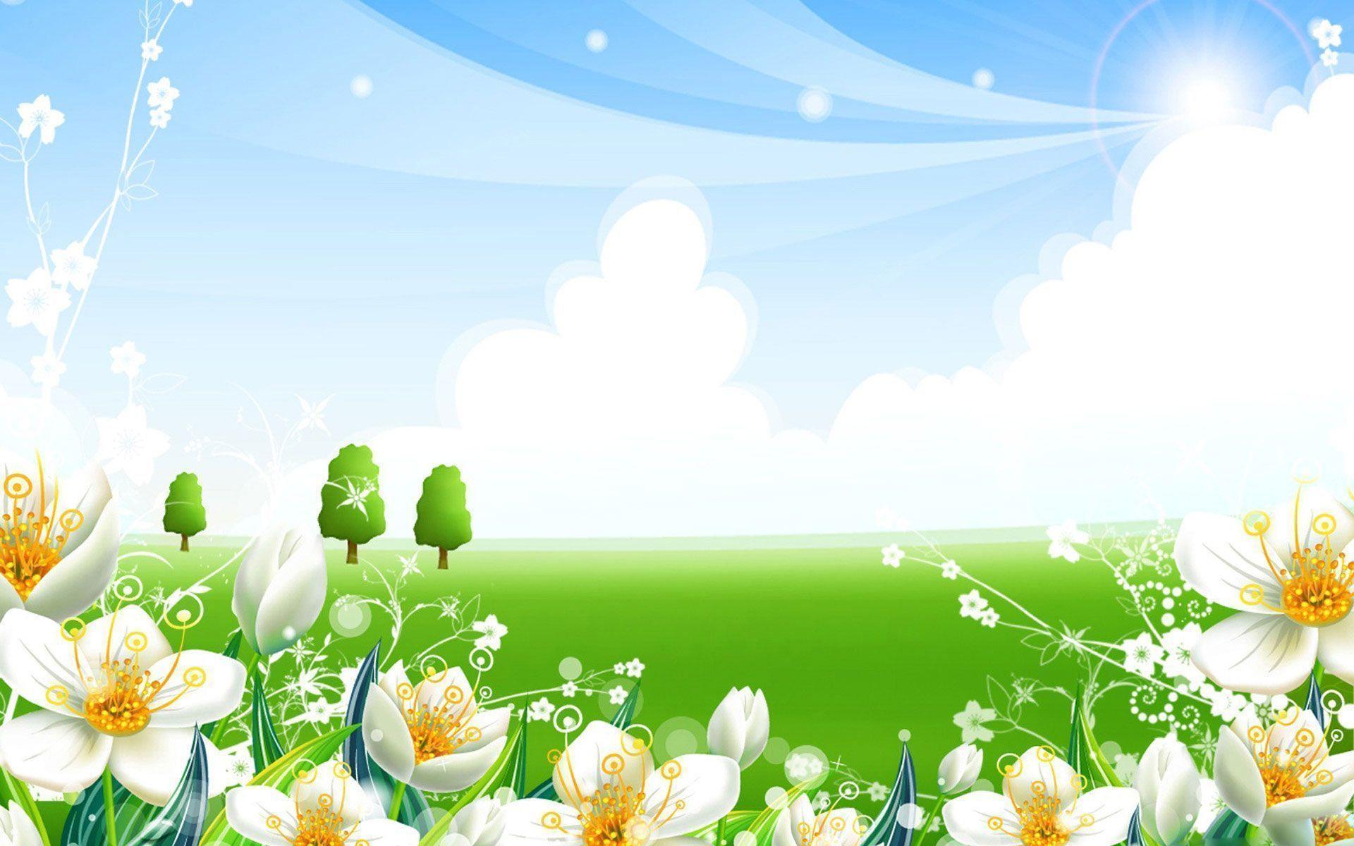 Wallpapers For Summer Flowers Wallpaper Desktop