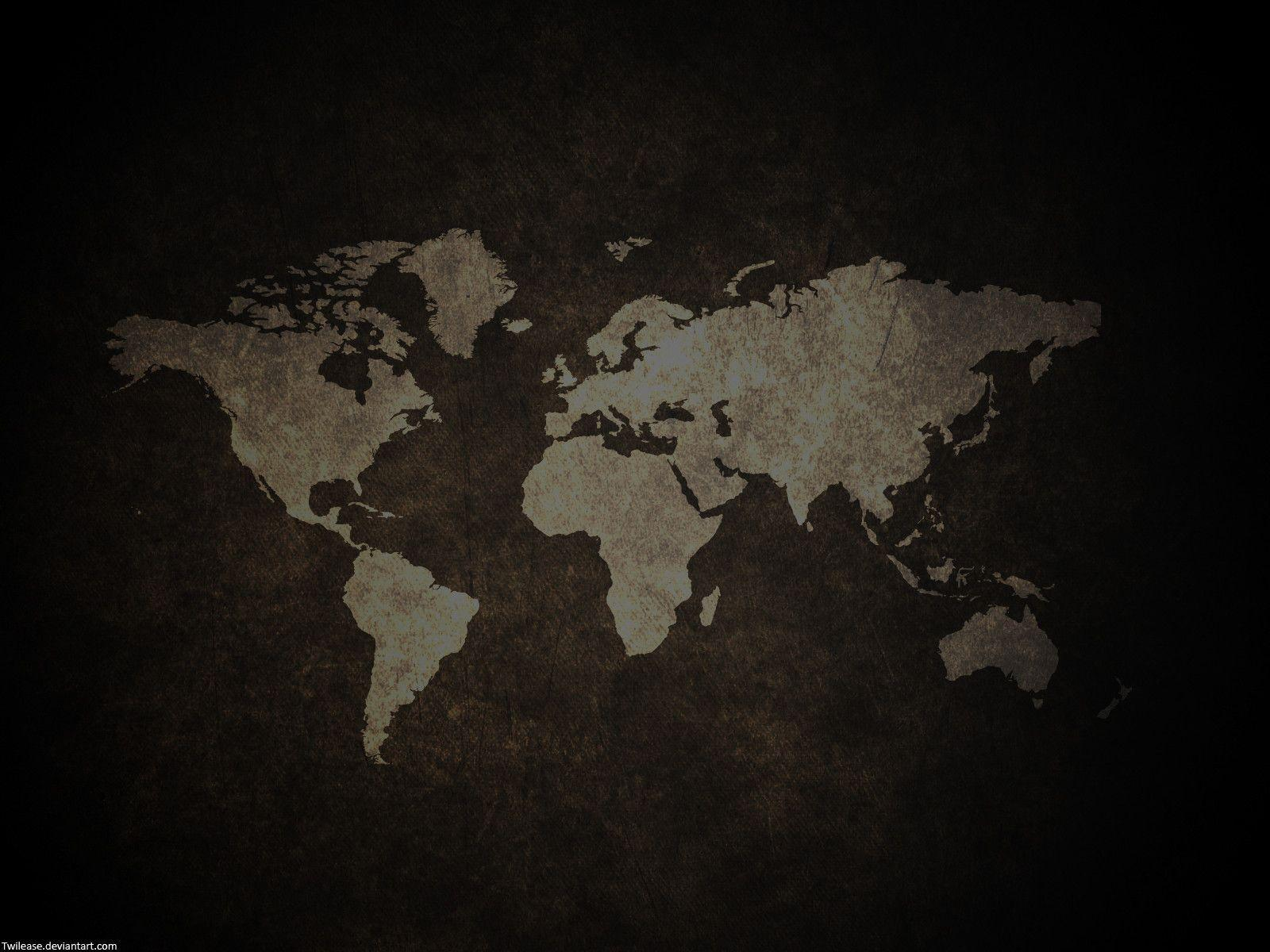 Global Map Wallpapers