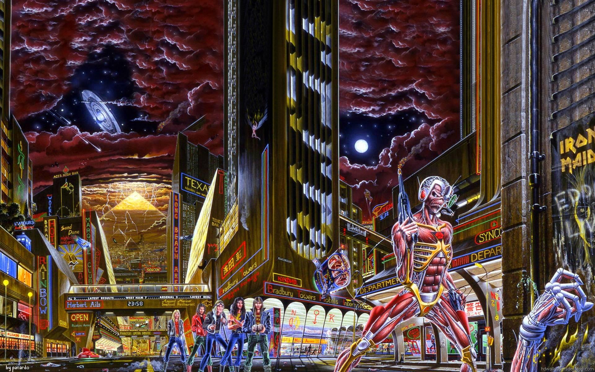 Iron Maiden Wallpapers Widescreen - Wallpaper Cave