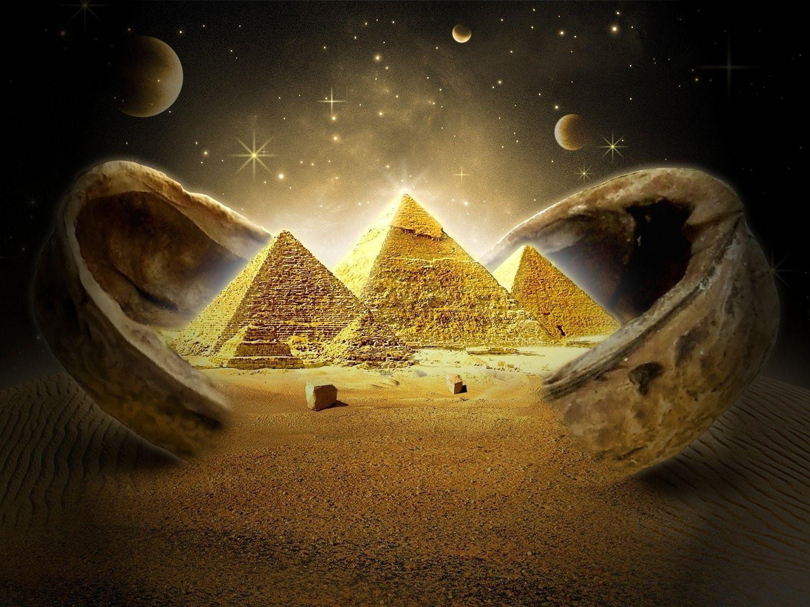 Egyptian Wallpaper: Egyptian Pyramids Wallpapers