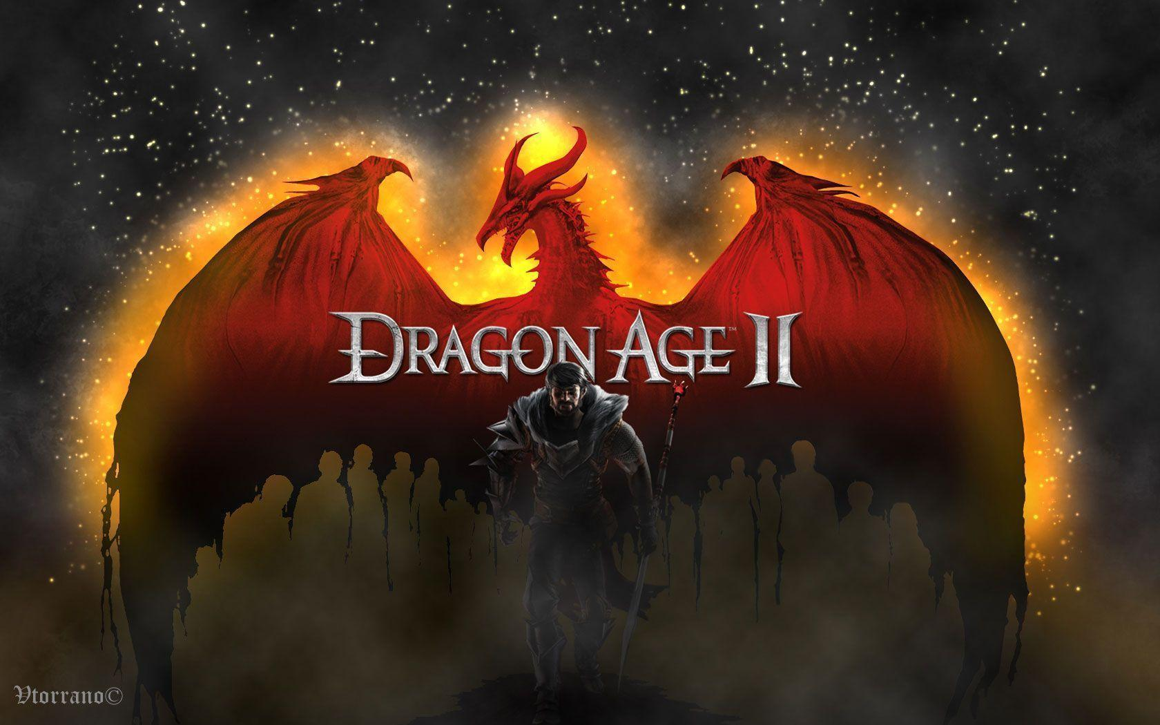 dragon age ii wide wallpapers
