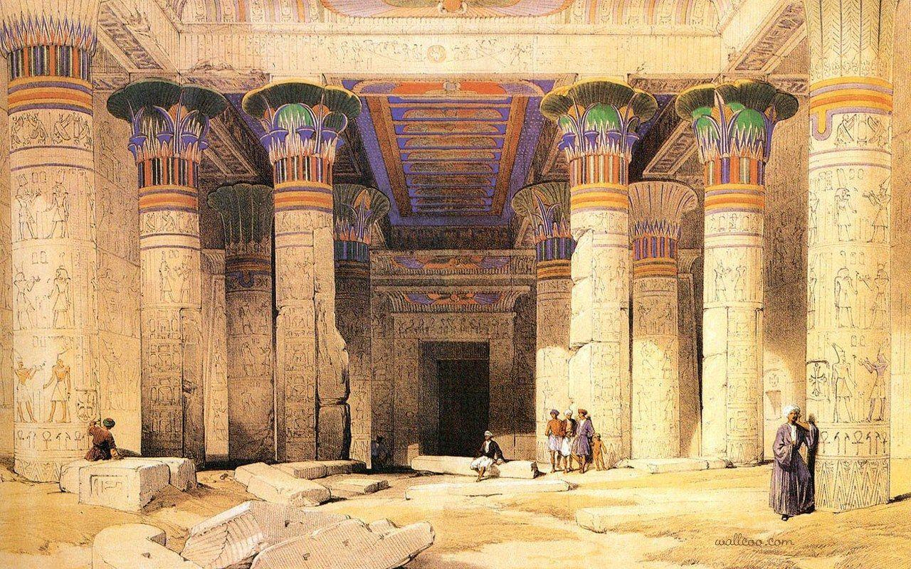 Ancient egypt wallpapers wallpaper cave for Egyptian mural art