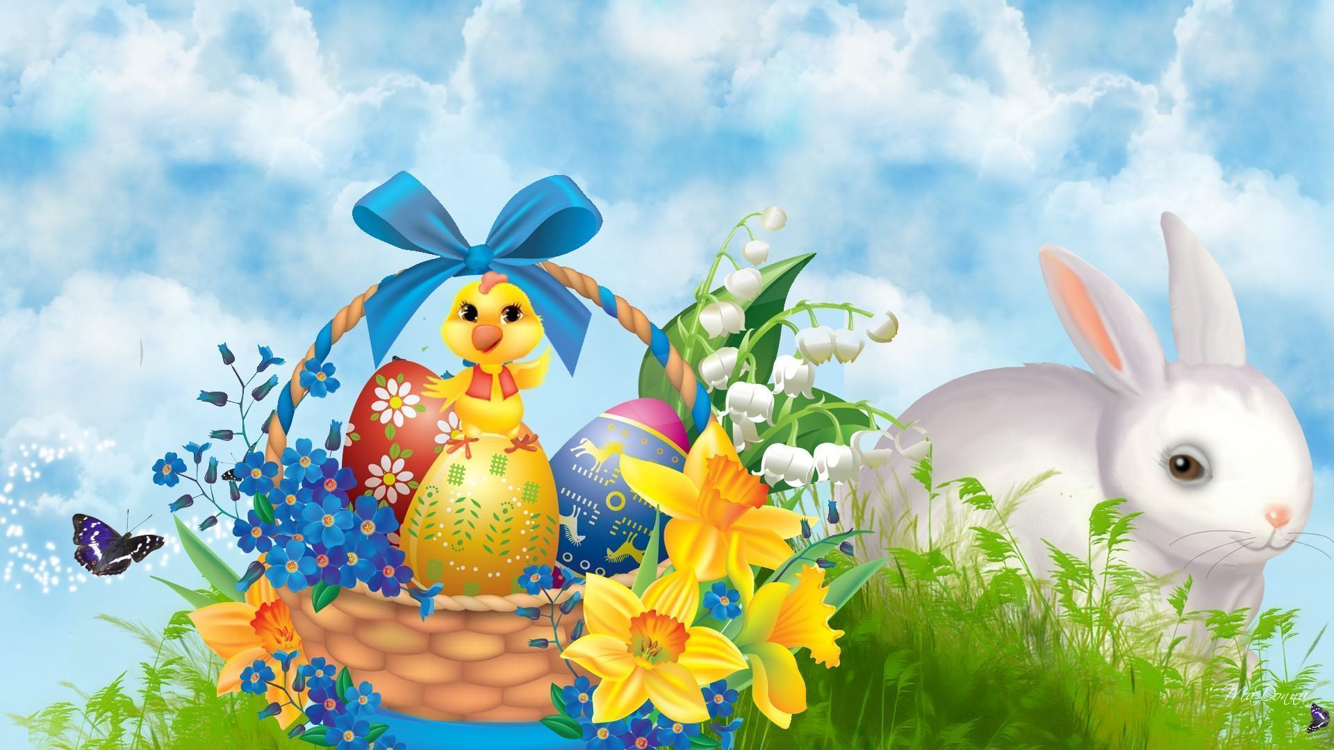 Easter bunny wallpapers wallpaper cave - Easter bunny wallpaper ...