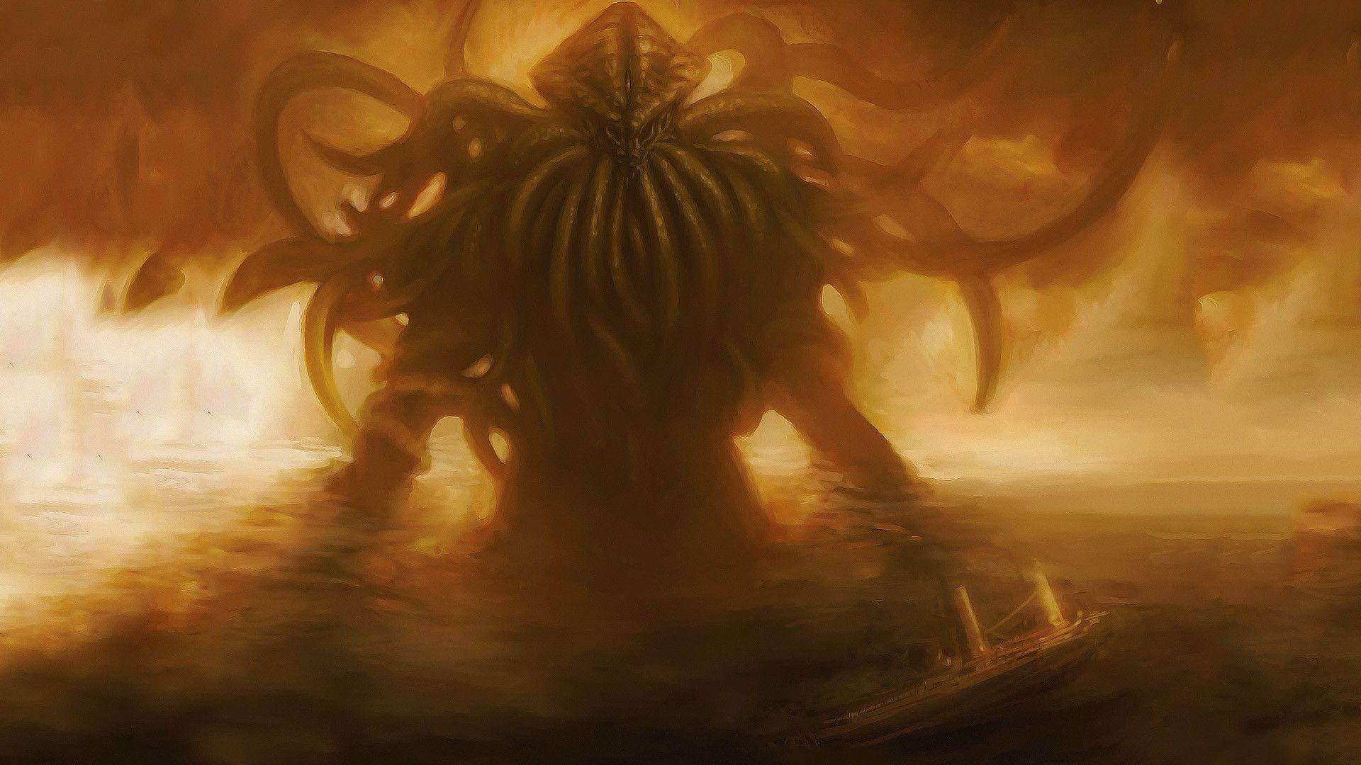 cthulhu wallpapers wallpaper cave