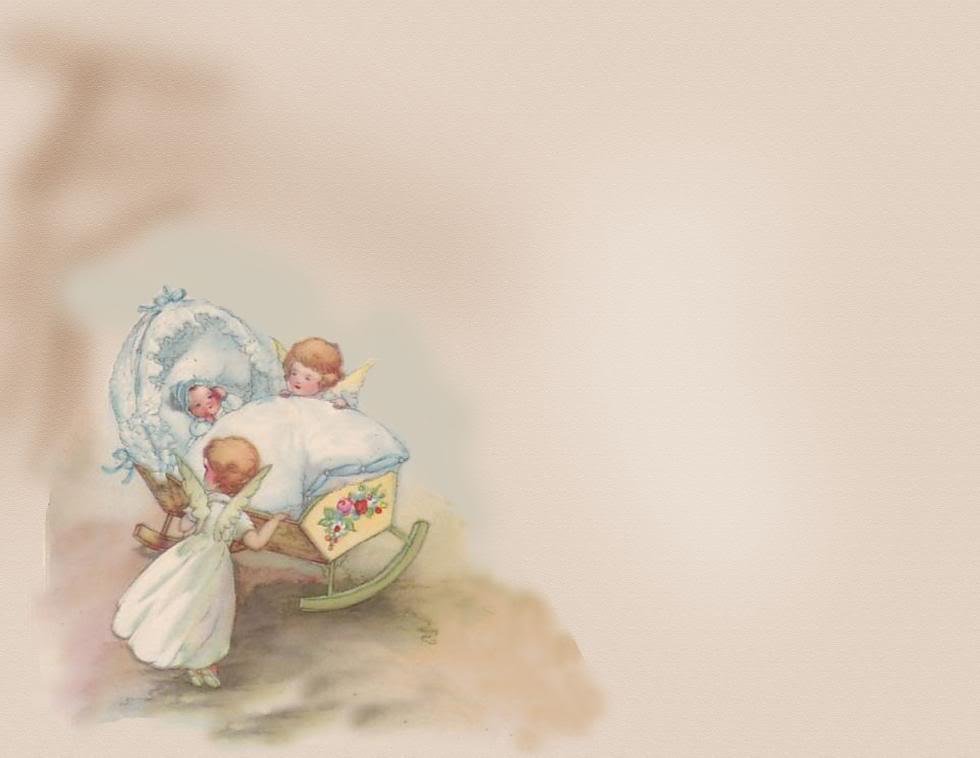 Фон для открытки с новорожденными, для мужчины