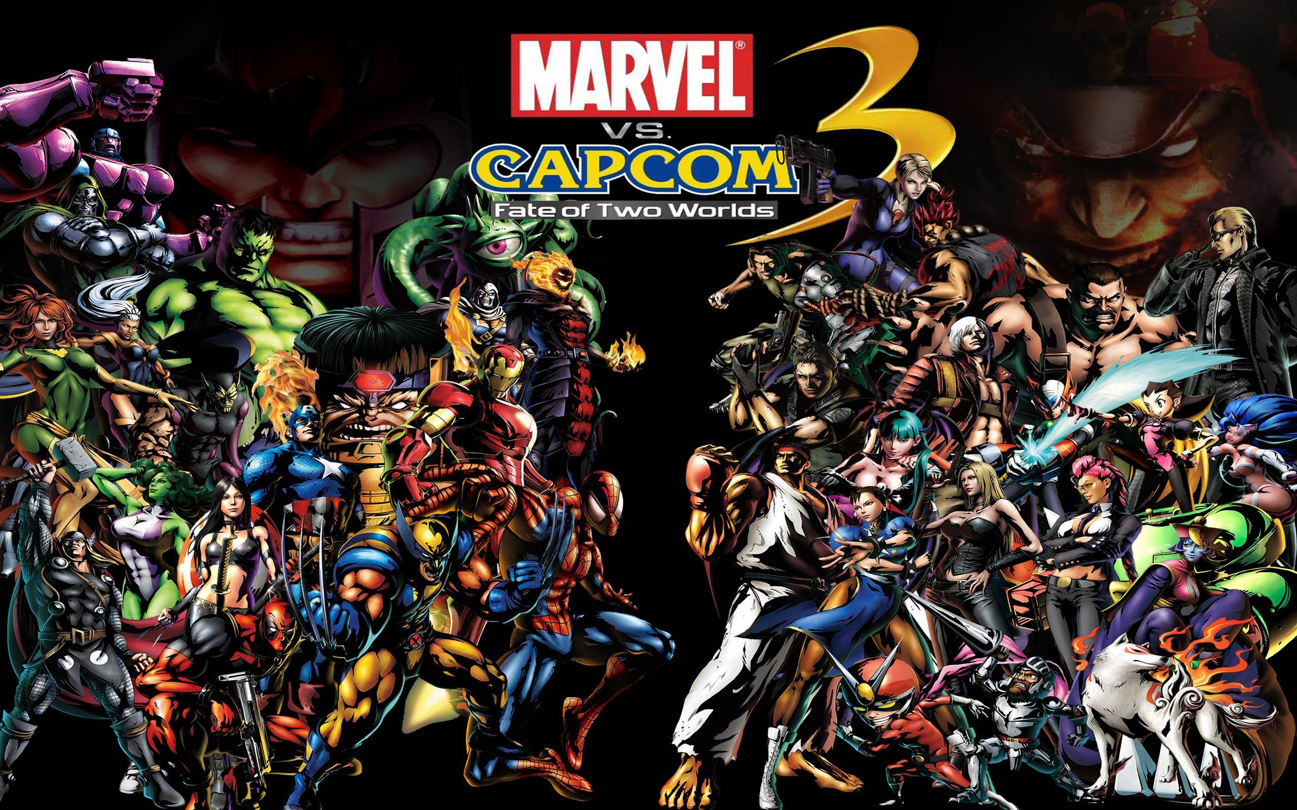 Ultimate Marvel vs. Capcom 3 wallpaper hd | Gaming Wallpapers HD ...