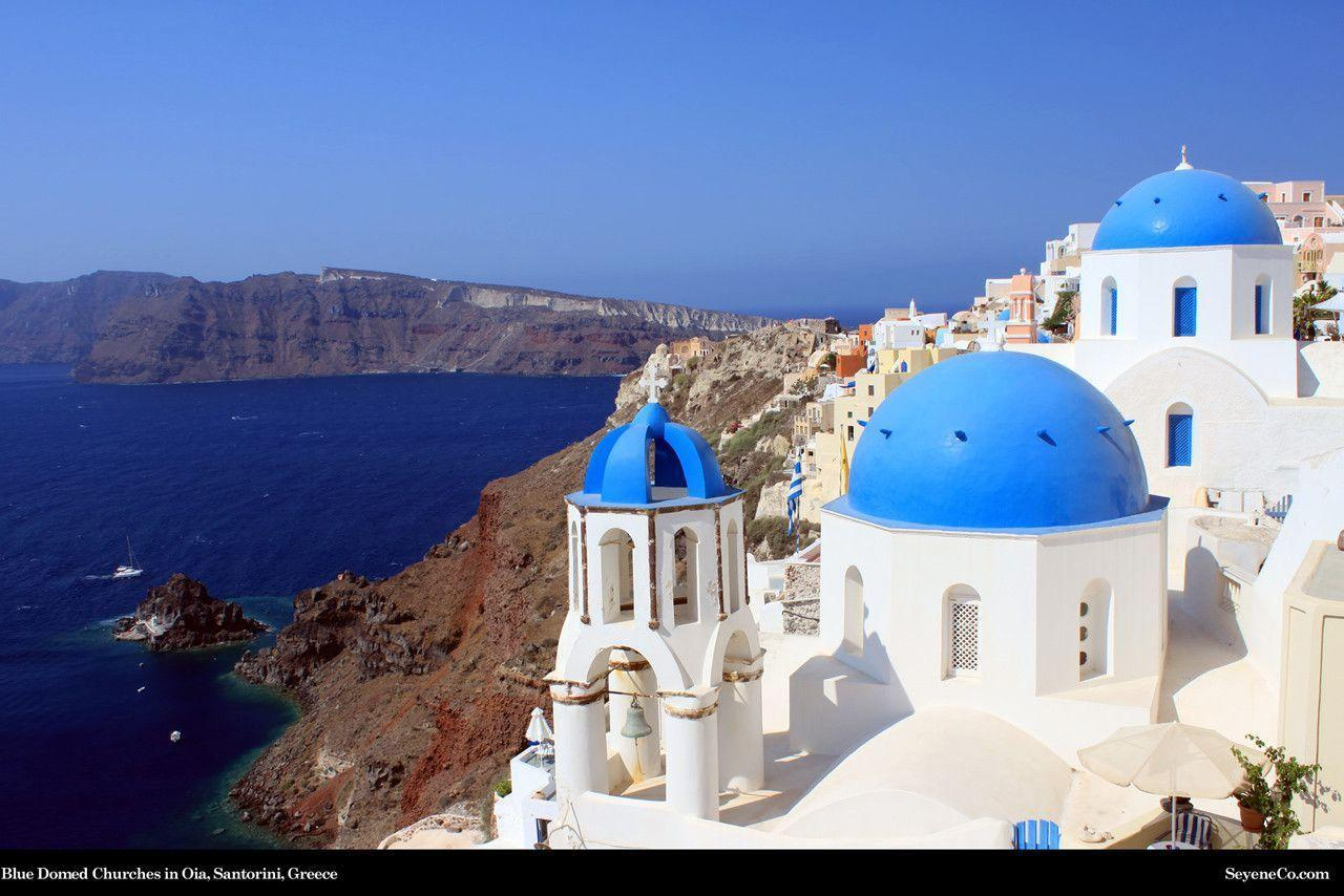 Free Santorini, Greece, Desktop Wallpapers from SeyeneCo Website