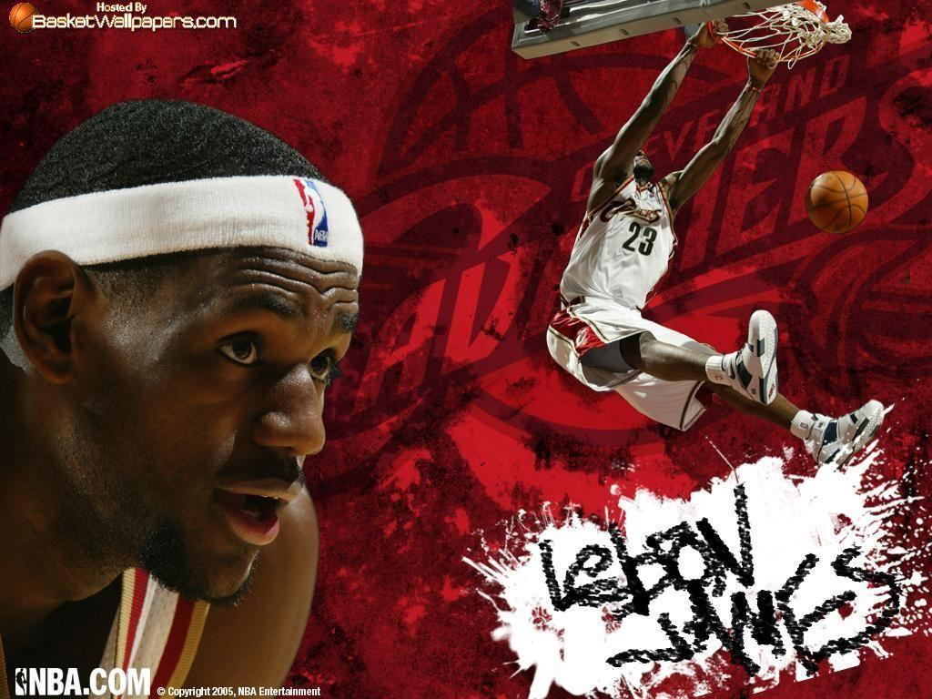 LeBron James Dunk Wallpapers