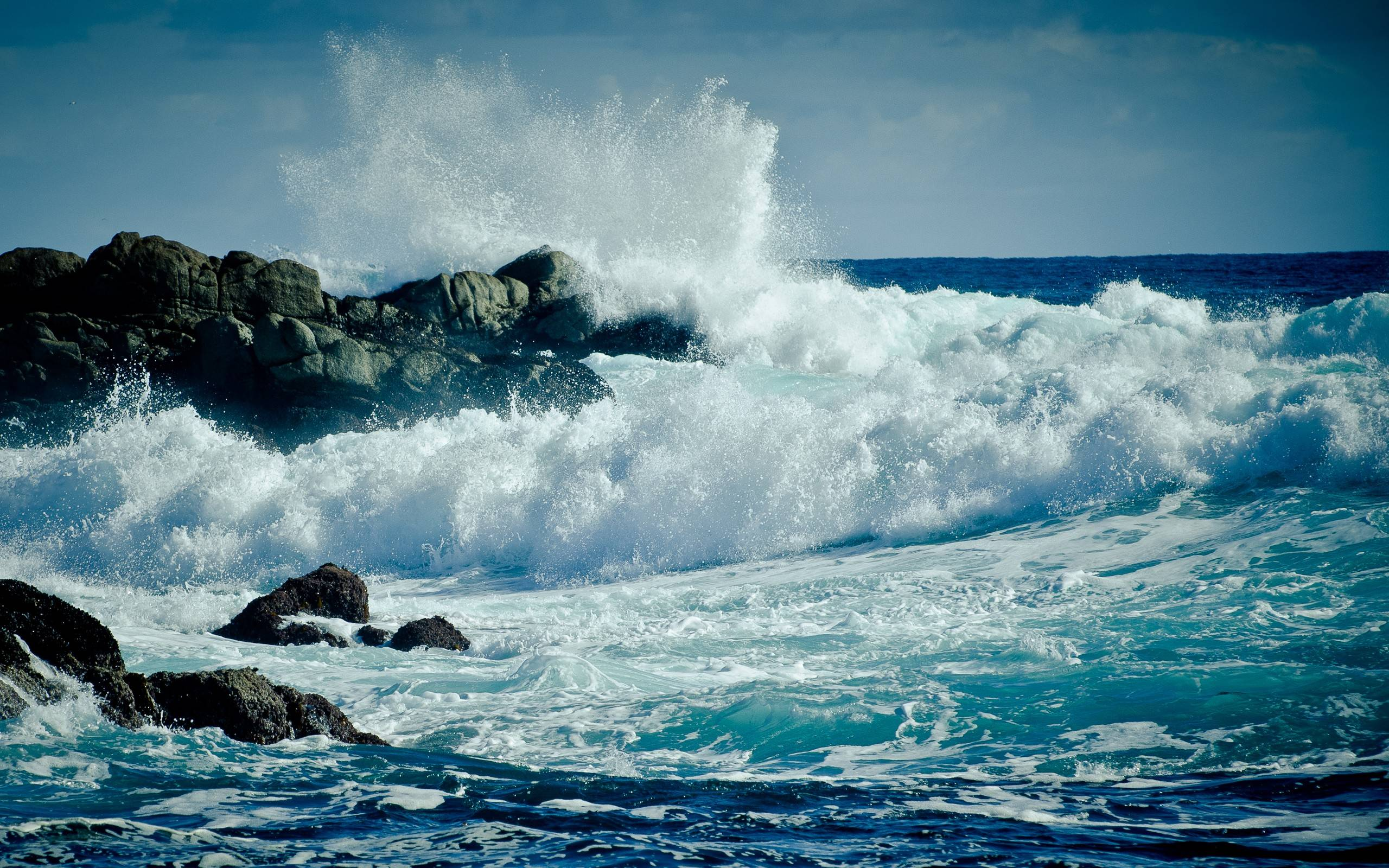Awesome Waves Wallpaper Widescreen 81235 5165
