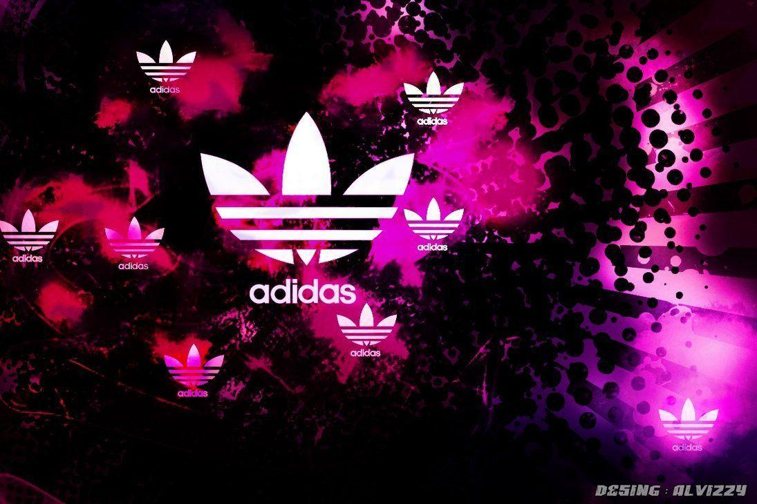 Pink Adidas Logo Wallpaper Images & Pictures - Becuo