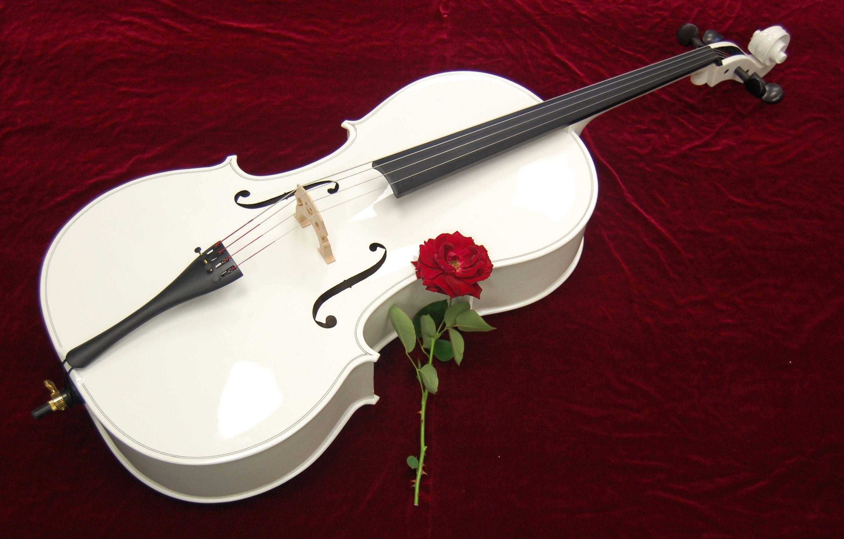 Cello Instruments Philharmonic Wallpaper