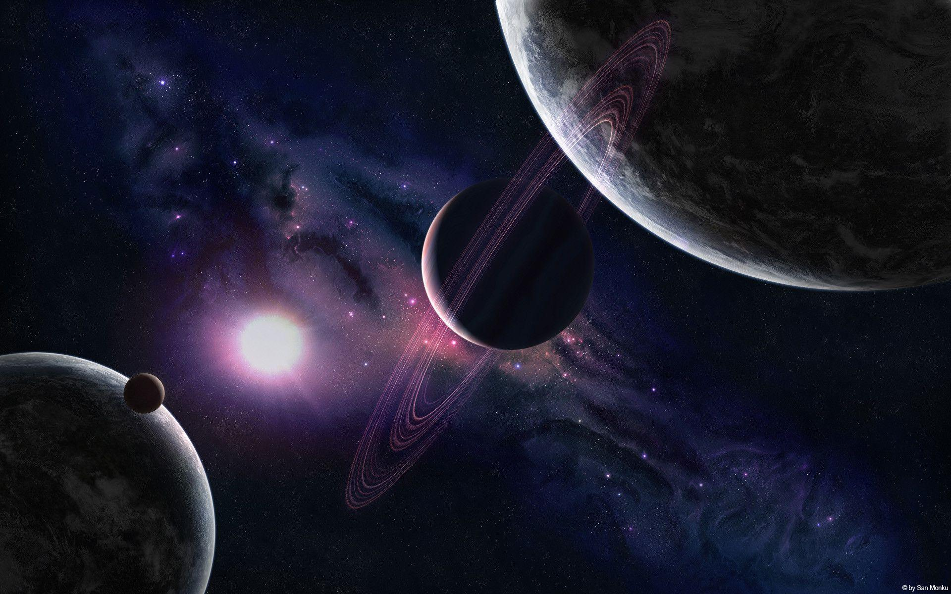 Space Planets Wallpapers Wallpaper Cave