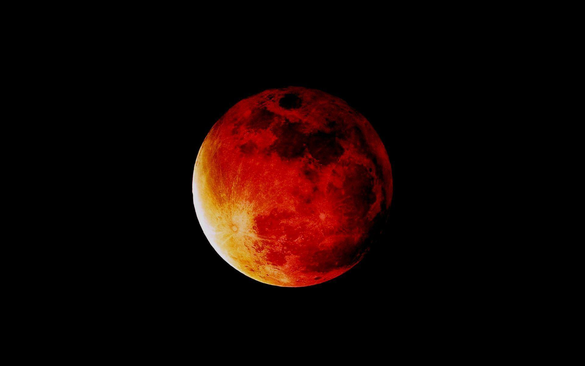 Red Full Moon Wallpaper Red Moon Wallpapers - ...