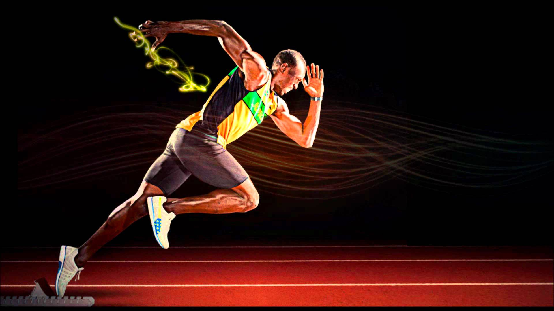 Images For Usain Bolt Running Wallpaper