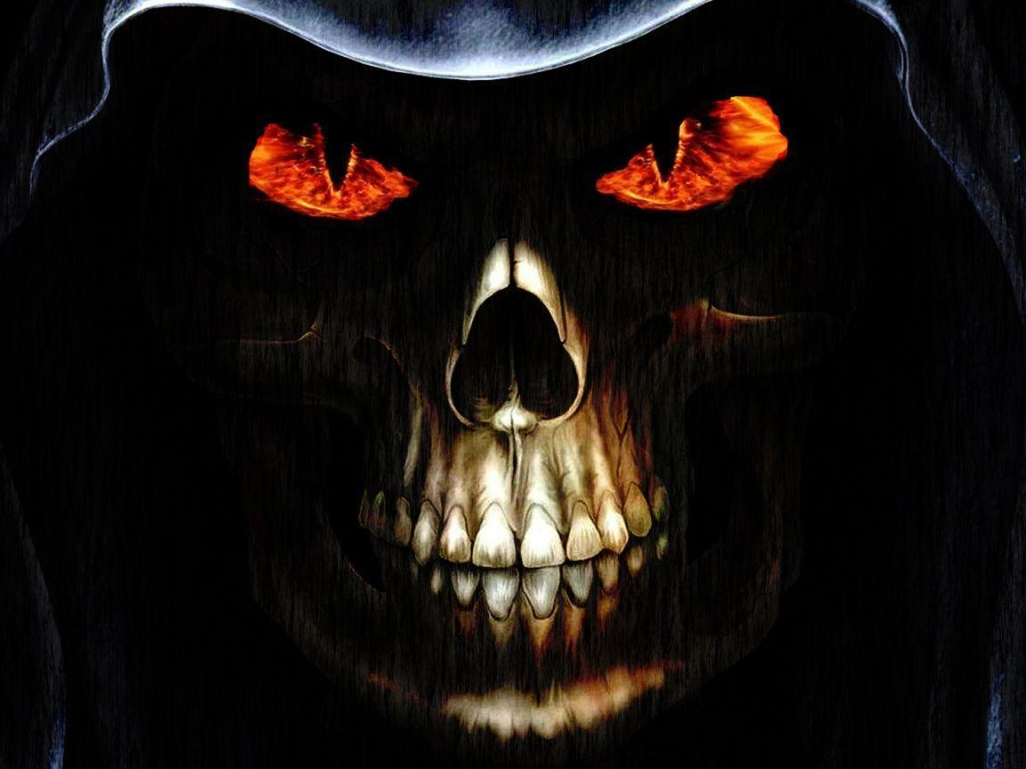 evil skull wallpapers screensaver - photo #42