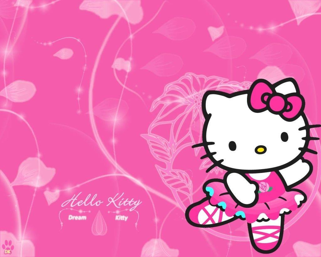 Wallpapers For > Wallpapers Hello Kitty Pink